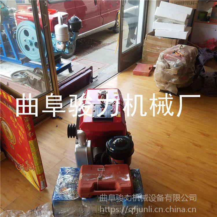 骏力牌 汽油机带动玉米膨化机 自熟型苞米花机 大米膨化机 批发直销