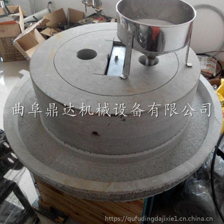 人工专业打造豆浆石磨 食品加工厂专用豆浆石磨机 鼎达畅销