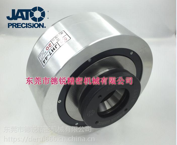 台湾朝铨JA7-44/JH7-44内撑外夹两用油气压夹头,自动化改装气动卡盘