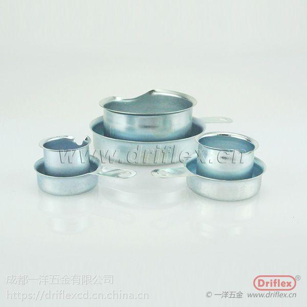 成都供应牙圈 铁镀锌金属环 螺纹式金属环 豁口式金属环