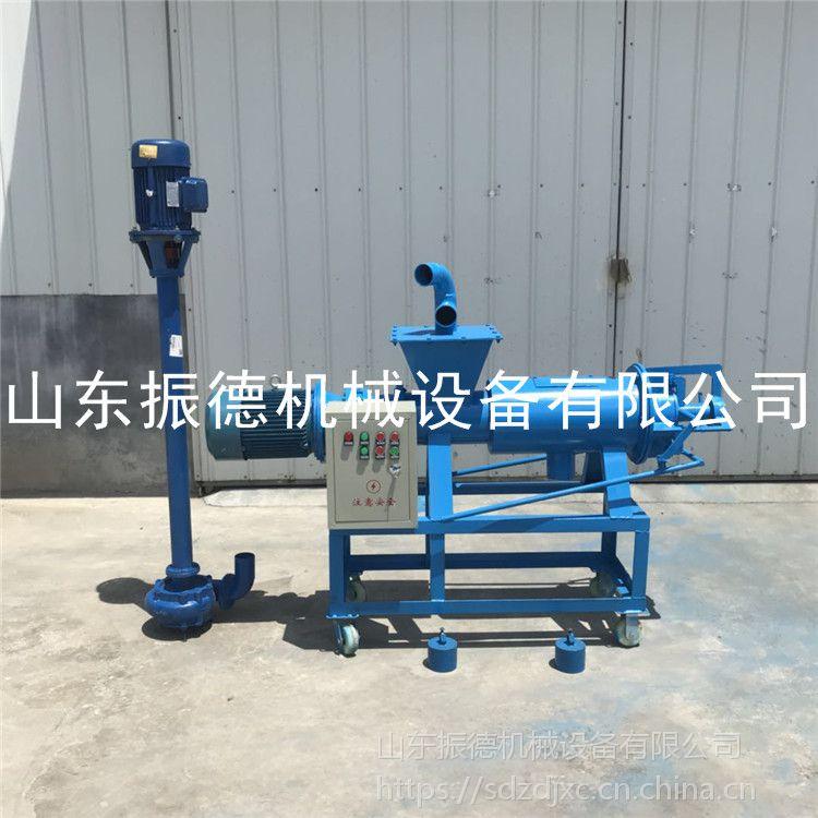 全自动猪粪 脱水机 固液分离机生产线 振德加工 多用途小型漏粪板技术