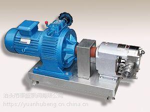 销售不同型号的凸轮转子泵