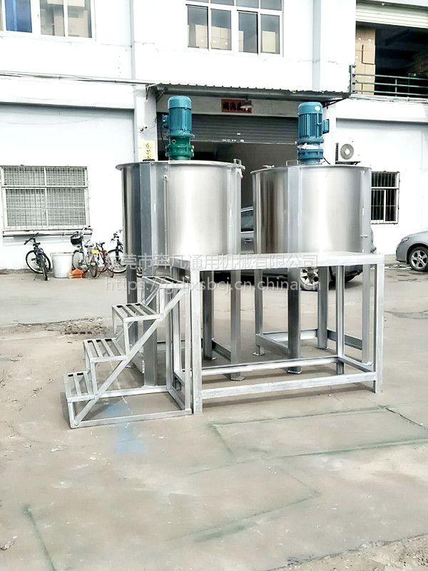 奔凡供应 BF-Y500L 立式液体搅拌机 恒温 调速 锥底 聚乙烯醇加热溶解搅拌罐