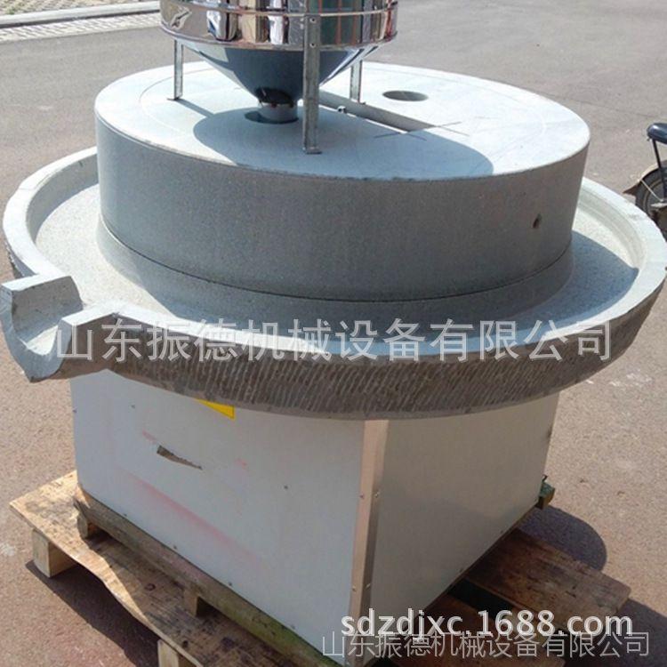 新型电动石磨 石磨豆浆  高效耐磨五谷杂粮豆浆石磨机 振德