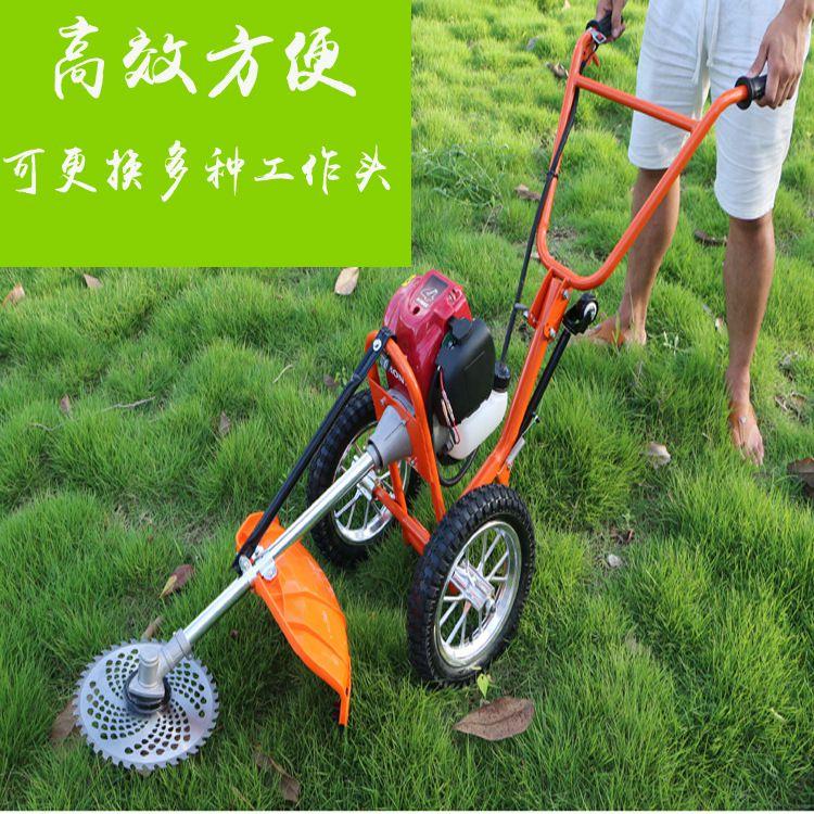 多功能打草机五件套 二冲程背负式打草机 佳鑫修剪草坪机