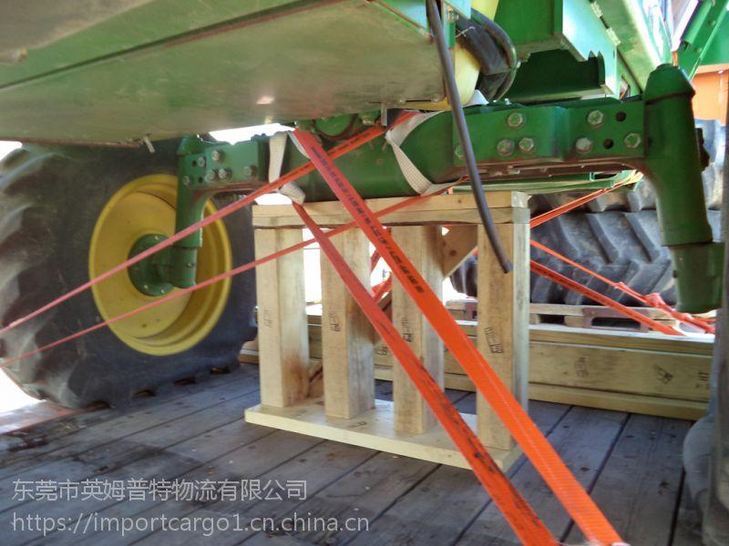 美国约翰迪尔7660二手采棉机进口清关全套手续,进口旧机电清关专家