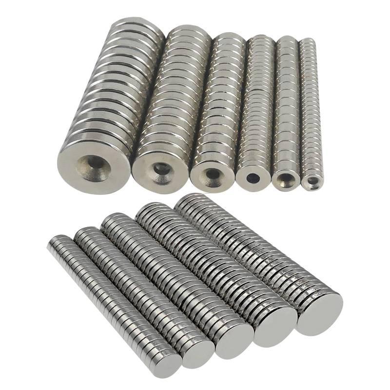 耀恒 厂家定制 钕铁硼强力磁铁 耐高温磁铁 方形沉孔磁钢 规格全
