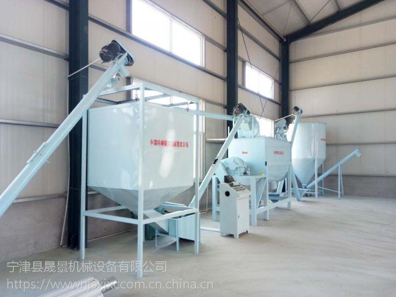 宁津县晟景机械专业制作畜牧业养殖设备(饲料搅拌机、刮粪机、上料机等)