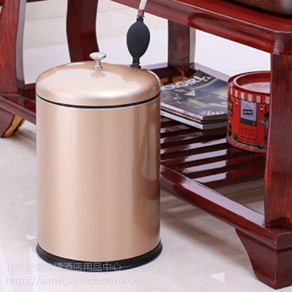 创意不锈钢茶渣过滤桶功夫茶道带下水、箅子及排水软管高档茶水桶