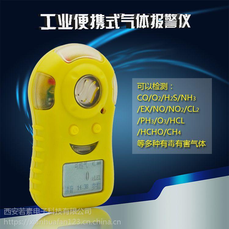 供应西安华凡便携式co2二氧化碳检测仪报警器防爆包邮探测器HFP-1201