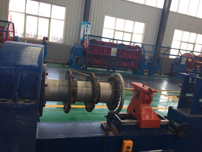 宏亮厂区电力电缆生产线