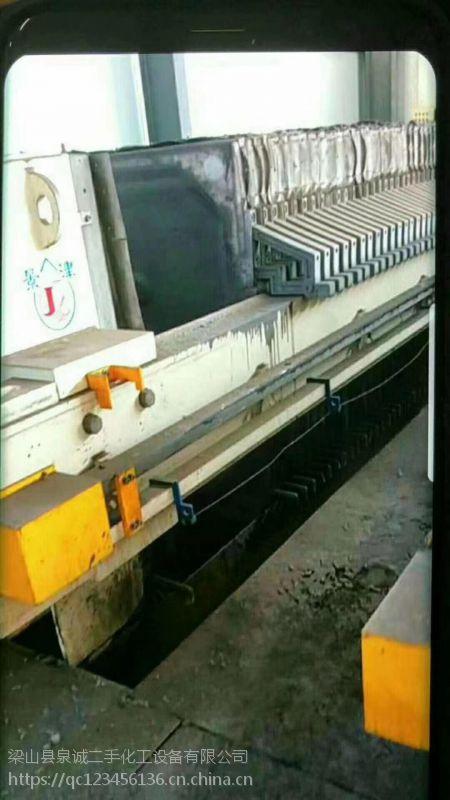 淮安二手压滤机 九成新,回收二手化工设备