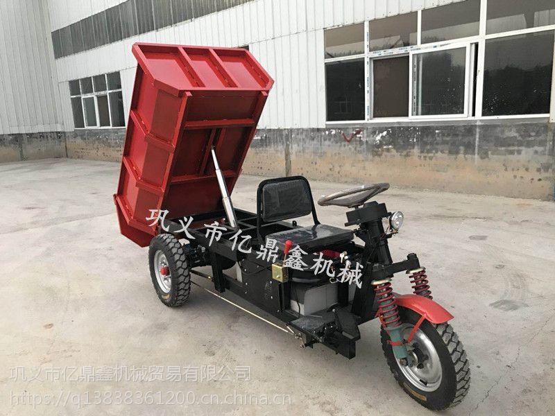 亿鼎鑫电动自卸车,载重量大专利产品无污染,高效率的电动矿山自卸车