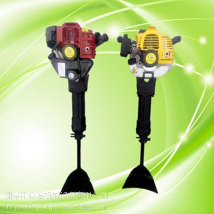 新型手提式链条起树机 低油耗苗木移植机