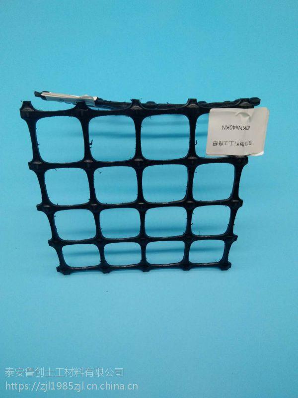 双拉塑料格栅供应国标30KN/18562379018+温州