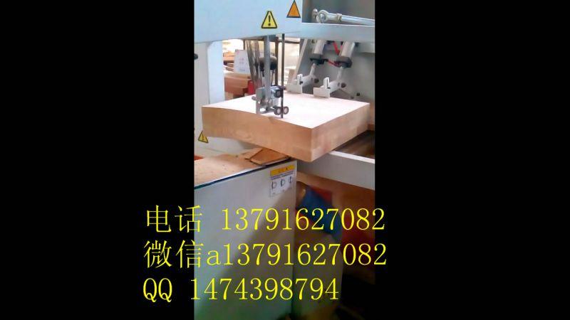 华洲数控带锯-木工带锯机视频演示