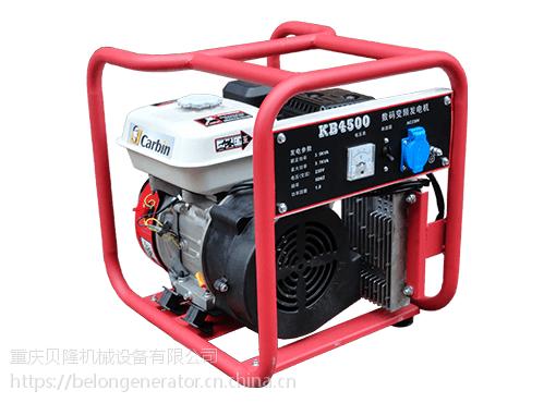 卡滨KB4500型开架式智能变频发电机卡滨3.5KW变频汽油发电机