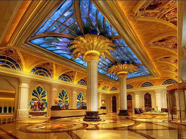 【金博大装饰】郑州欧式风格豪华度假酒店装修设计图片