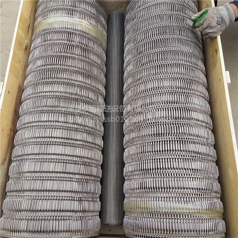 宁津卓远厂家定制304不锈钢乙字型网带 质量保证