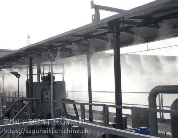 水上游乐园多功能喷雾机气水混合雾化降温专家
