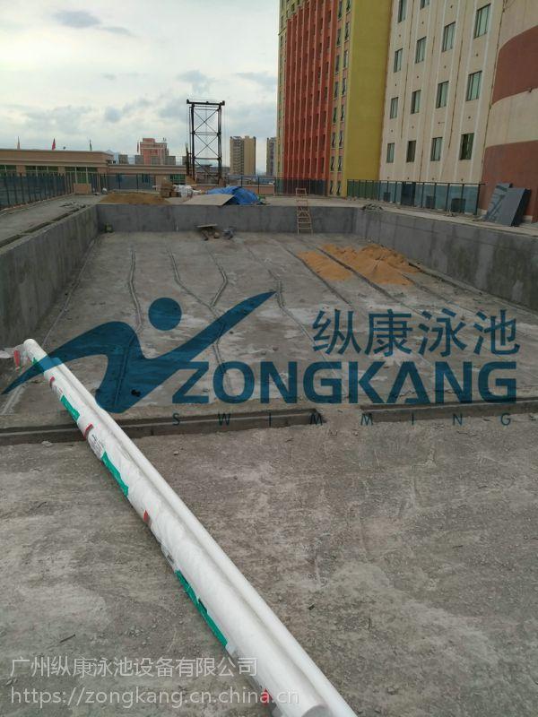 广州纵康泳池水过滤设备_水景观水处理_钢结构泳池