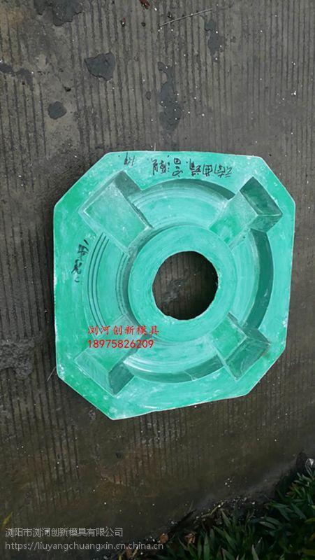 定做水泥别墅外墙面圆孔边装饰模具玻璃钢材质