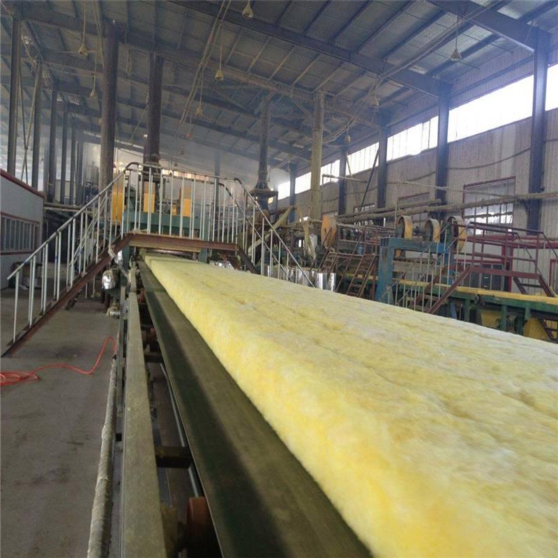 厂价直销玻璃棉卷毡吸音 高密度玻璃棉板销售