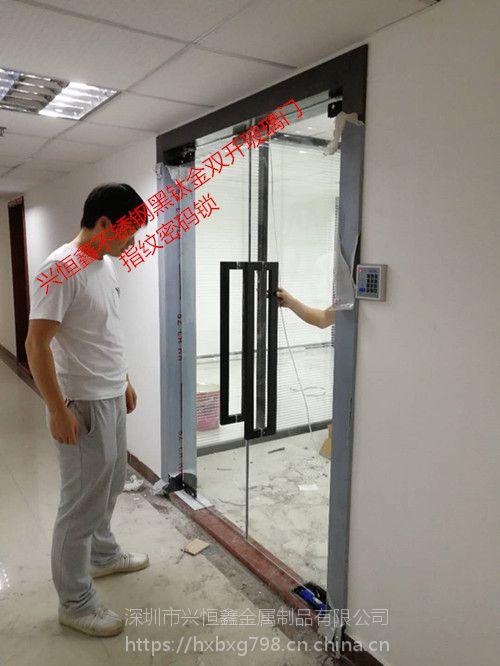 定做深圳罗湖玻璃门店铺玻璃门商场玻璃门办公室玻璃门