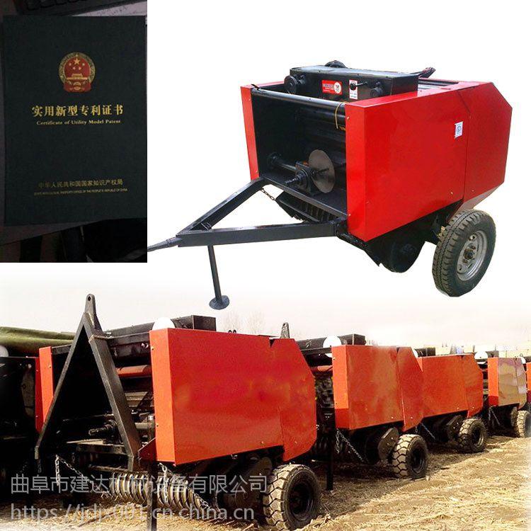 牵引式玉米秸秆打捆机 捡拾式玉米秸秆打捆机