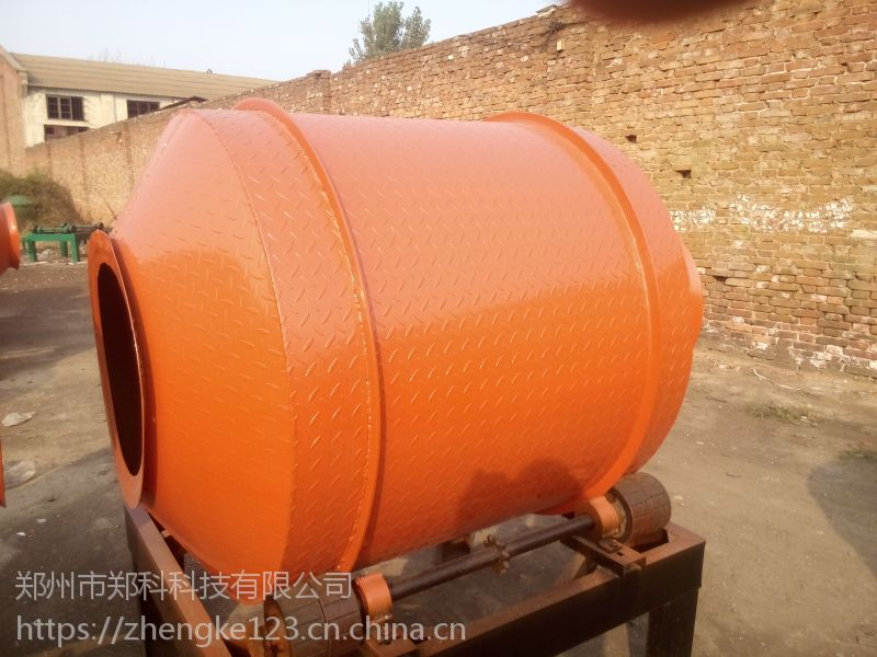台州郑科350/500简易小滚筒搅拌机轻巧实用可靠