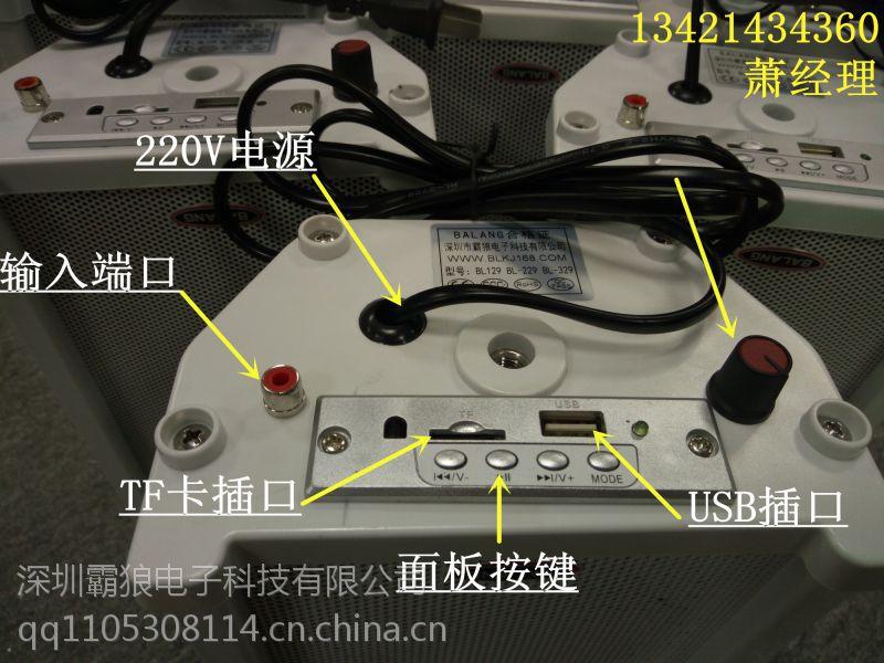 BL-6830室外防水音柱无需功放/有源音响