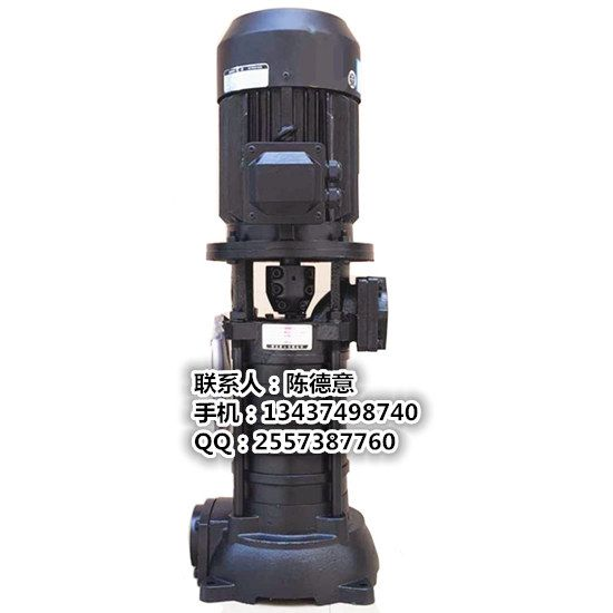 VMP40-5泵沃德2.2KW水泵立式多级泵42米扬程管道增压泵高层供水泵