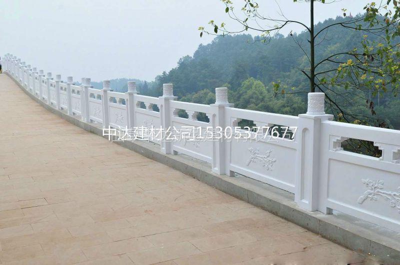 河口出售钢筋混凝土水泥仿木护栏 水泥仿石护栏 水泥仿木河堤护栏