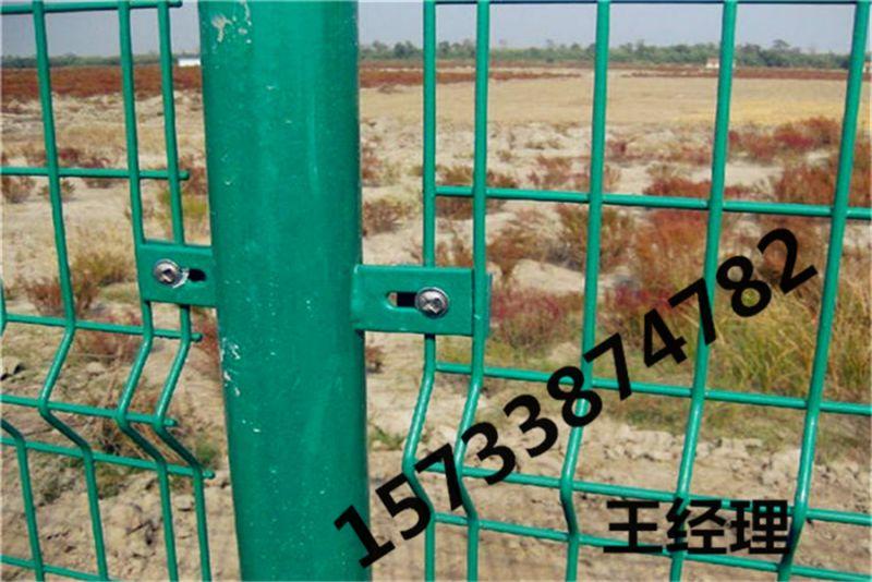 南通 浸塑 防爬网护栏 厂区护栏网 草坪围栏 样品图