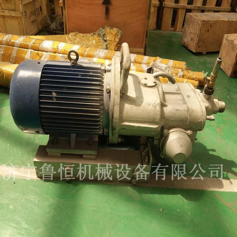 KHYD110矿用岩石电钻 5.5KW探水钻机 防爆岩石电钻厂家 鲁恒回转式钻机