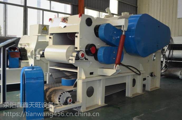 江苏兴化天旺216鼓式木片机6米进料设备