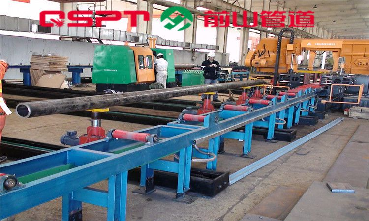 管道横向物流输送系统(单丝杆型) 管道坡口机 上海前山