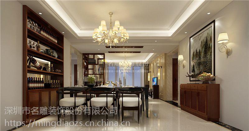 中国铁建国际公馆装修效果图_打造既和谐又实用的新家居