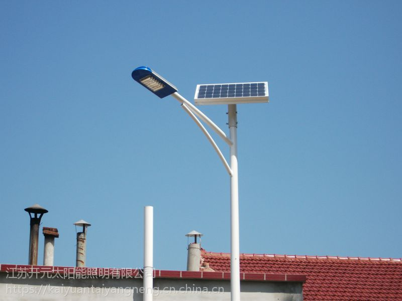 山东滨州4米20W华普永明模组太阳能庭院灯