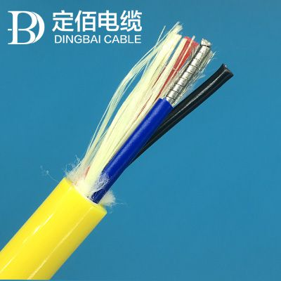 2018年高新技术研发水下光纤复合缆|浮力电缆|水密网线PU护套