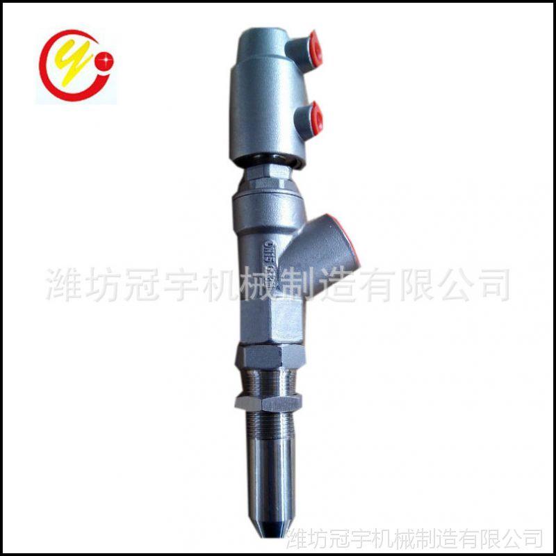厂家直供全自动果冻饮料灌装机用短灌装嘴气动灌装阀
