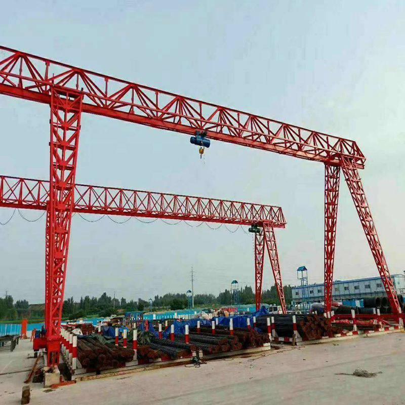 低价出售二手5吨10吨电动葫芦双梁桥式起重机16吨20吨 二手吸盘