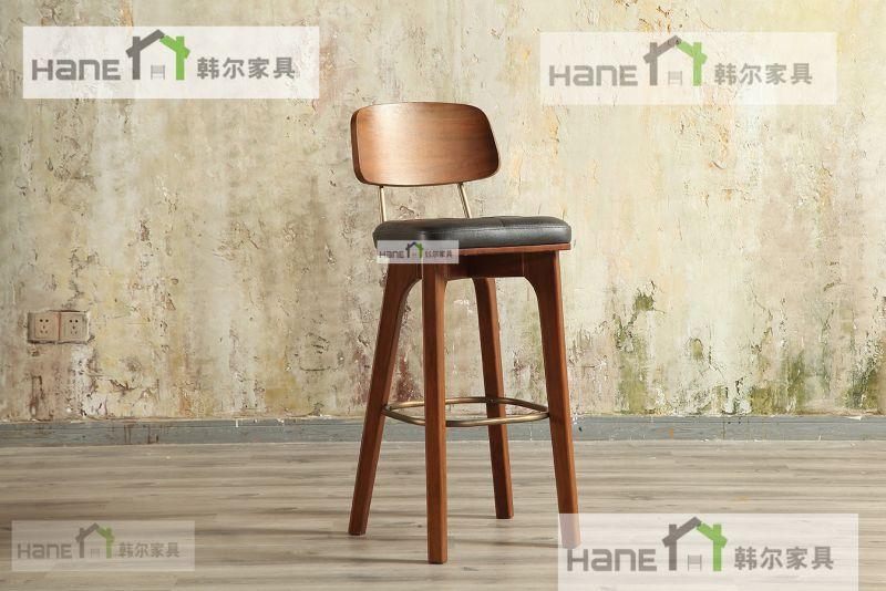 直销徐汇鹅夫人餐厅桌椅 餐厅实木桌子 实木椅子订制 上海韩尔品牌