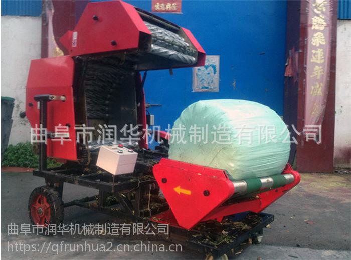 玉米秸秆打捆机 养殖饲料青贮机 麦秸打捆机