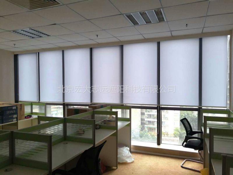 北京宏大志远石景山会议电动窗帘办公室遮光窗帘