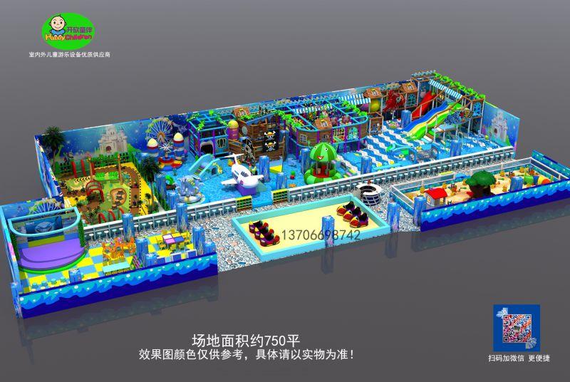 淘气堡儿童乐园生产基地教玩具之都新乐士游乐设备