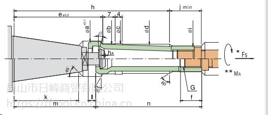 M台湾丸荣ACROW 加工中心主轴拉爪 拉刀夹爪ISO-20 ISO-25 四瓣爪