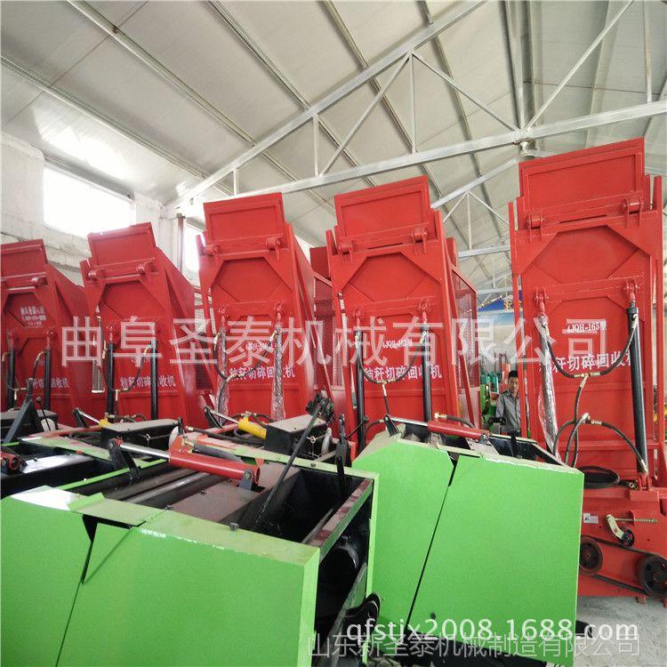 新款秸秆粉碎回收机厂家电话 河北拖拉机带动秸秆青储机销售商