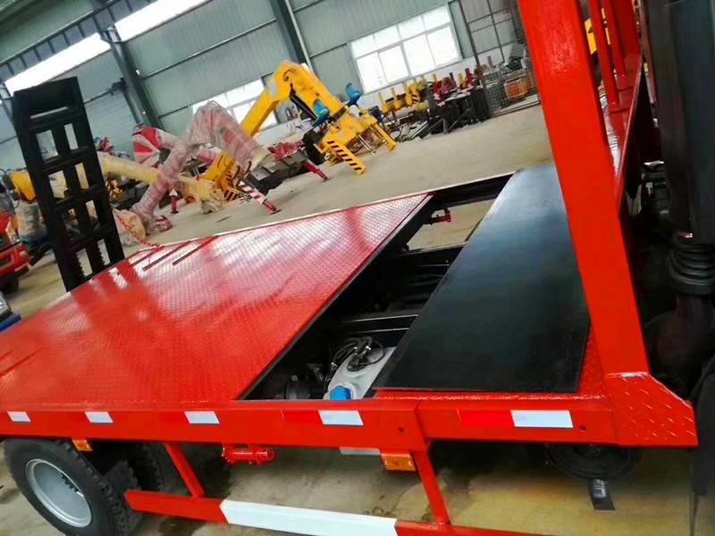 大运蓝牌大小挖机拖车生产厂价直销小排量