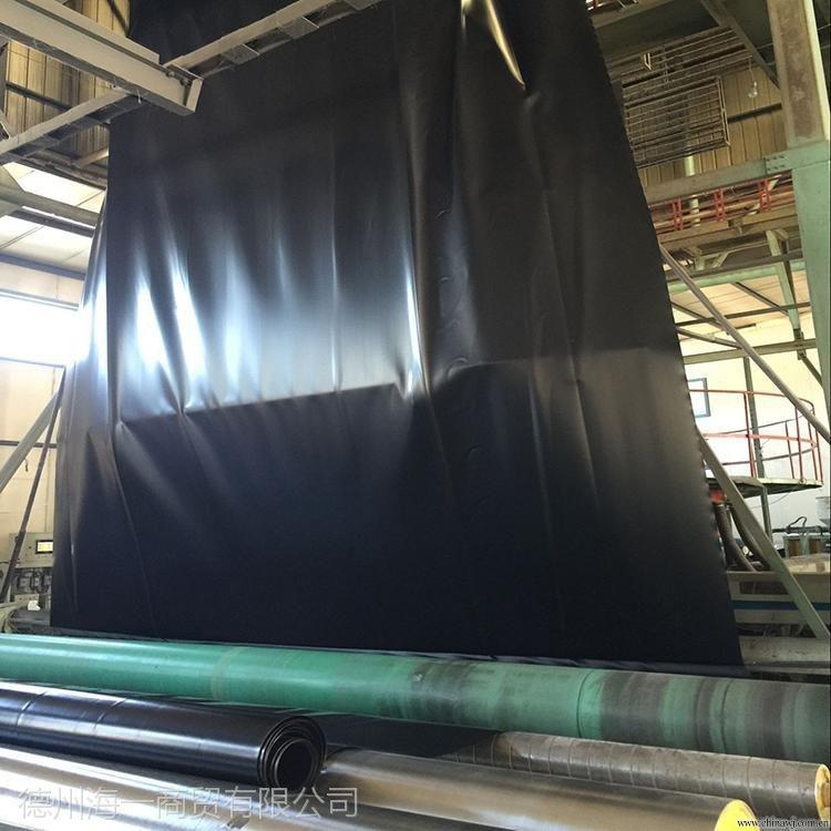 供应山东厂家HDPE环保 防渗土工膜 垃圾处理厂黑色土工膜 厚度0.2-4.0mm